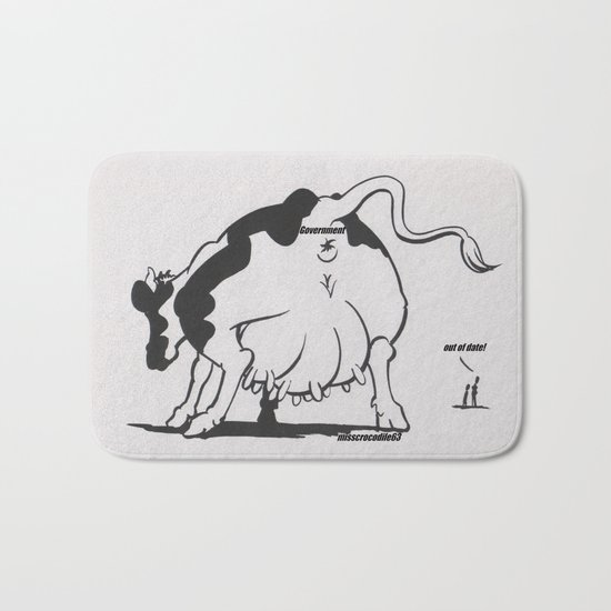 Milked? Bath Mat