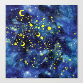 Stars That Can Laugh Canvas Print