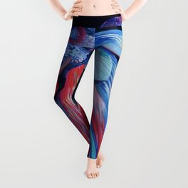 Male Siamese Fighting Fish Betta Splendens Leggings