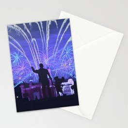 Mickey's House Stationery Cards