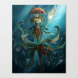 Deep Fear Canvas Print