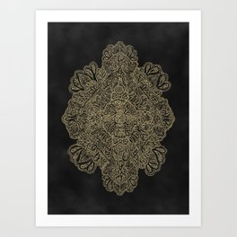Ornate Diamond Art Print