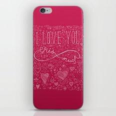 Infinity Valentine iPhone & iPod Skin