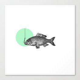 mint bubble Canvas Print