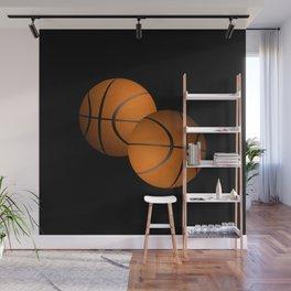 Basketball Sports Design Wall Mural