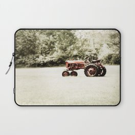 Vintage Red Tractor Laptop Sleeve