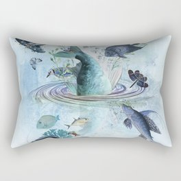 Gone Fishin' Rectangular Pillow