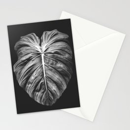 Monstera Deliciosa Black and White Stationery Cards