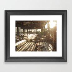 Under Construction.. Framed Art Print