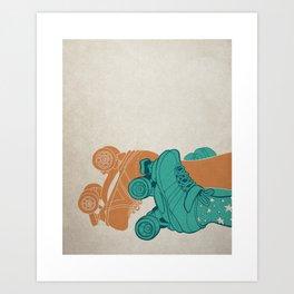 Skate Sex Art Print