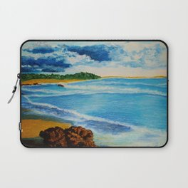 Cloudy Beach Laptop Sleeve