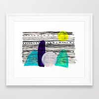 southwest Framed Art Prints featuring Southwest by Jessalin Beutler