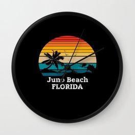 Juno Beach FLORIDA Wall Clock