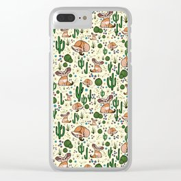 Fennec Fox Clear iPhone Case