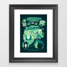 Adventure Comics Framed Art Print