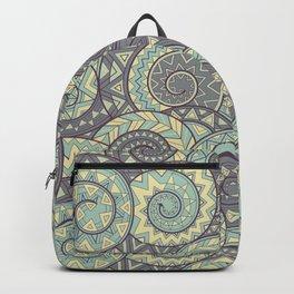 nagual. tribal seamless pattern Backpack