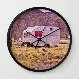 Motorhome.  Wall Clock