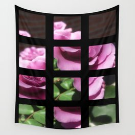 Rosas Moradas 1 Art Rectangles 2 Wall Tapestry