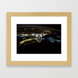 SR-71 Blackbird Framed Art Print