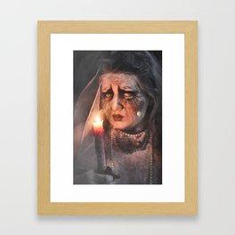 Grisly Reminder Framed Art Print