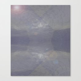 Skyscapes Of Light In 3-D Canvas Print