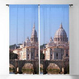Panorama of Rome and Vatican Blackout Curtain