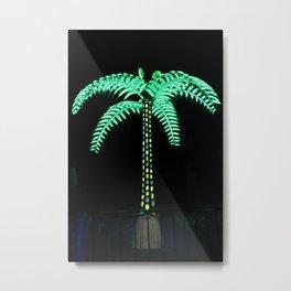 Tree Fern Light Metal Print