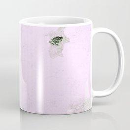 pink and grey texture Coffee Mug