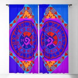 Astrological Hunab Ku Blackout Curtain