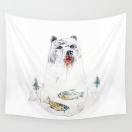 their life is not wild! Wall Tapestry