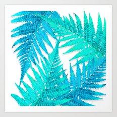 Fern forest Art Print