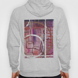 Lines, Circles And Squares, OH MY! 2 Bottom Square Hoody