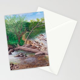 Ozark river Stationery Cards