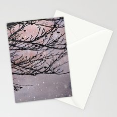 Dusky Winter Days Stationery Cards