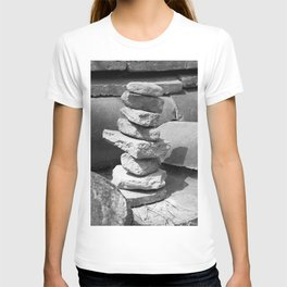 Stacked Rock Pile T-shirt