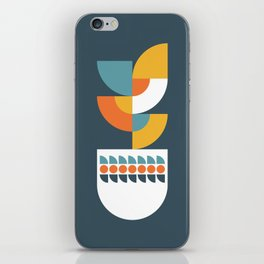 Geometric Plant 02 iPhone Skin
