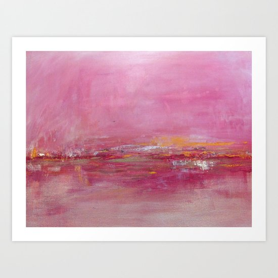 Ebb and Flow Art Print