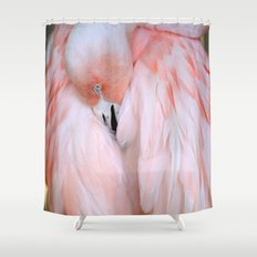 Flamingo #2 Shower Curtain