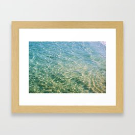 Crystal Waters Framed Art Print