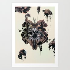 Impossible Gardens Art Print
