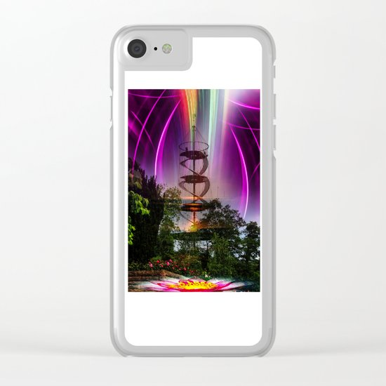 Festival of Lights Clear iPhone Case