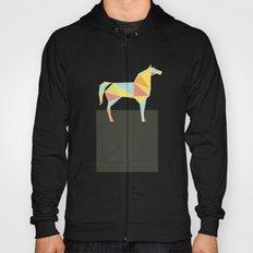 Origami Horse by Friztin Hoody