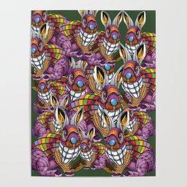 Steampunk Bunny Rabbit Poster