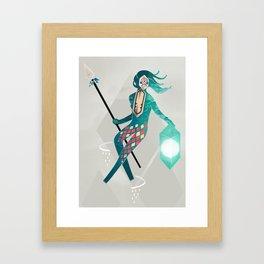 The Sea Guardian Framed Art Print