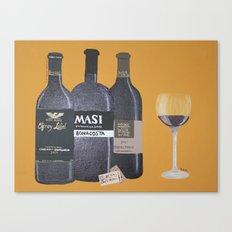 In vinum es veritas Canvas Print