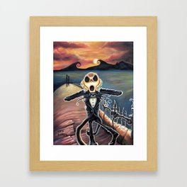 No animal nor man Framed Art Print