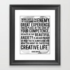 Your Creative Life Framed Art Print