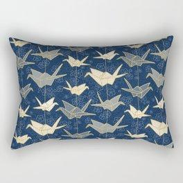 Sadako's Good Luck Cranes Rectangular Pillow