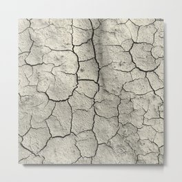 Parched Earth Metal Print