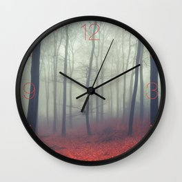 Sound of Fog Wall Clock